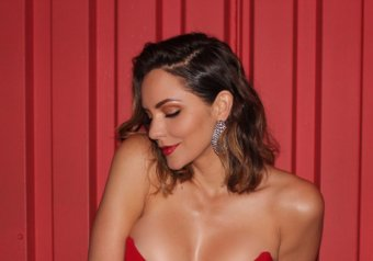 Katharine McPhee – Music Video Photoshoot Candids