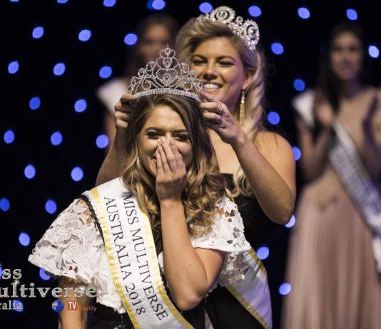 Ashley Annaca the new Miss Multiverse Australia 2018