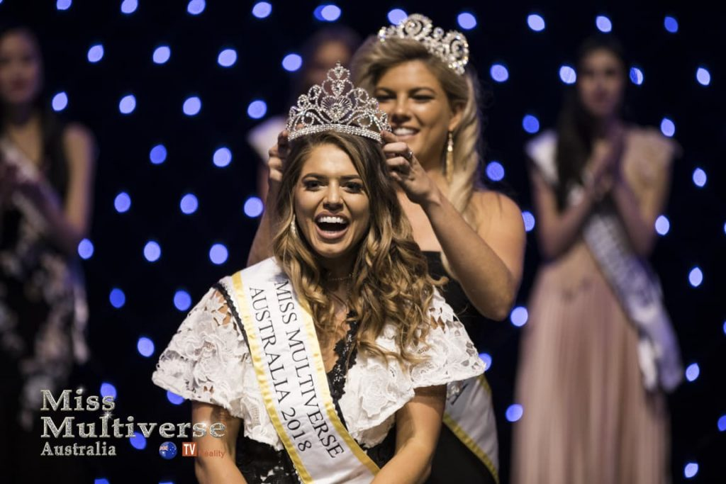 Ashley Annaca the new Miss Multiverse Australia 2018
