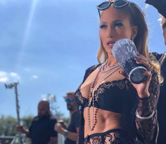 "Jennifer Lopez in ""Dinero"" Music Video Shoot"